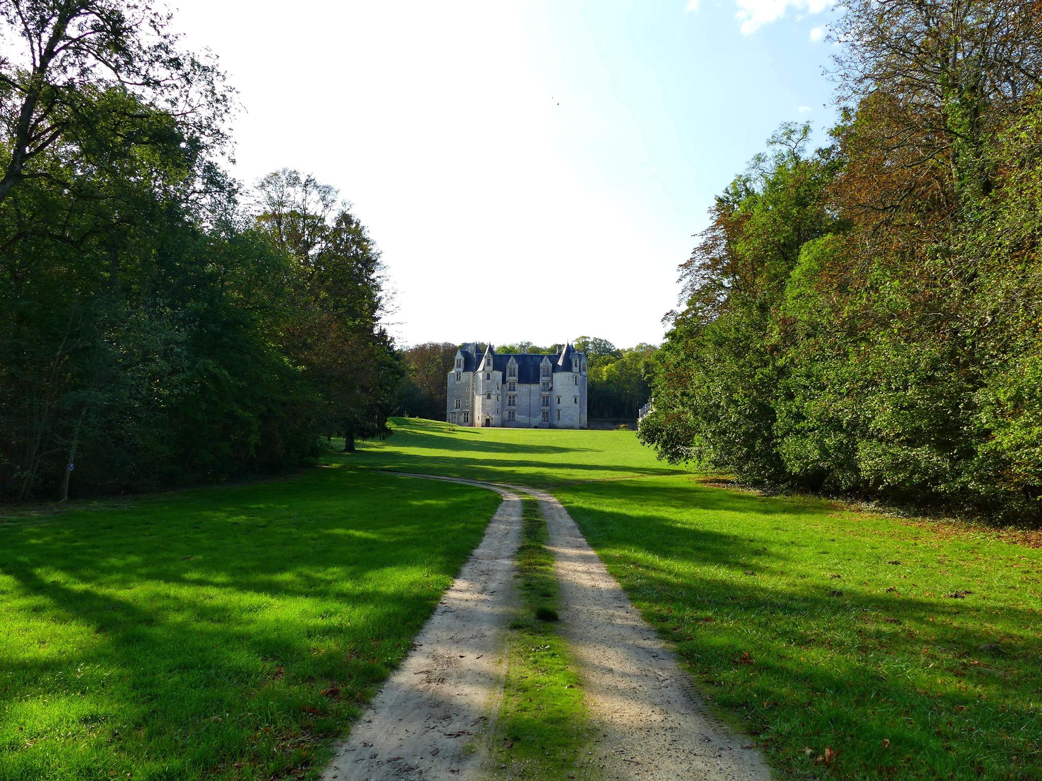 Vue du château des Brétignolles