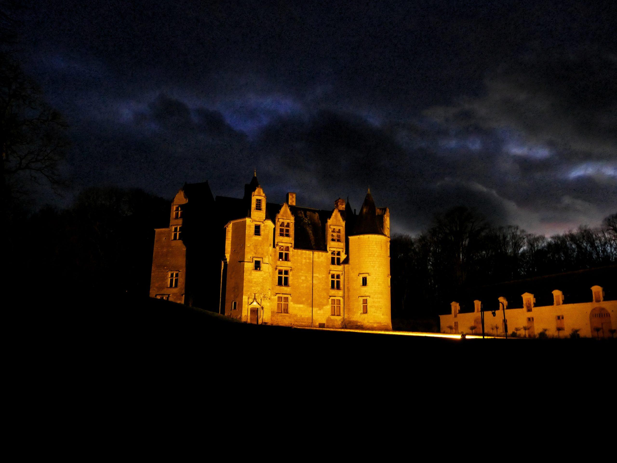 Château des Brétignolles - vue nocture