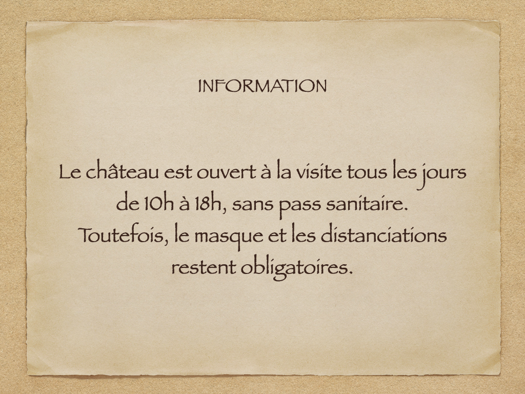 Information chateau