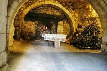 Cave troglodyte du four à pain du Château des Brétignolles