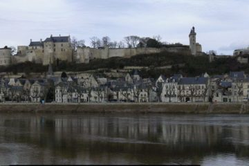 Vue panoramique de Chinon